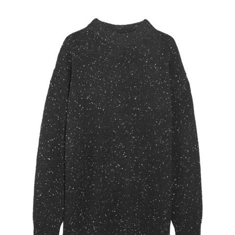 Boyfriend Wool-Blend Sweater