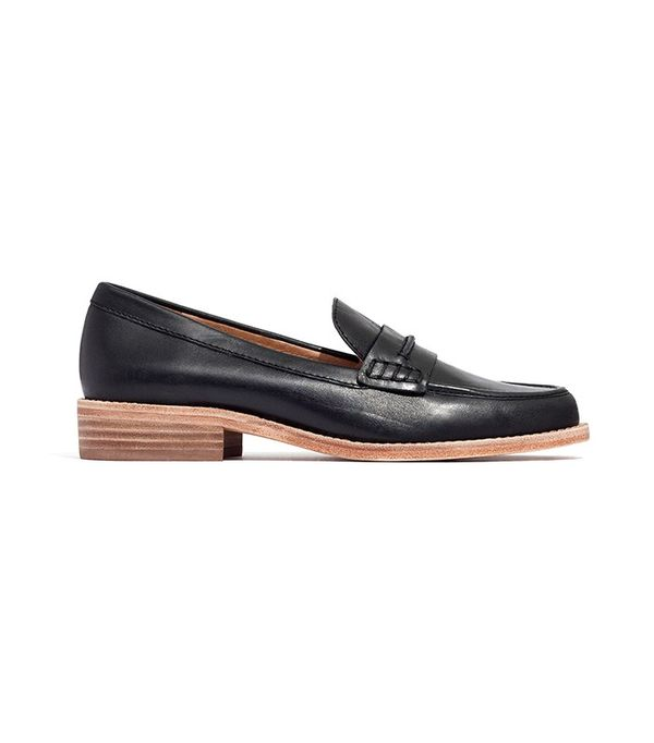 Madewell The Elinor Loafers in Leather