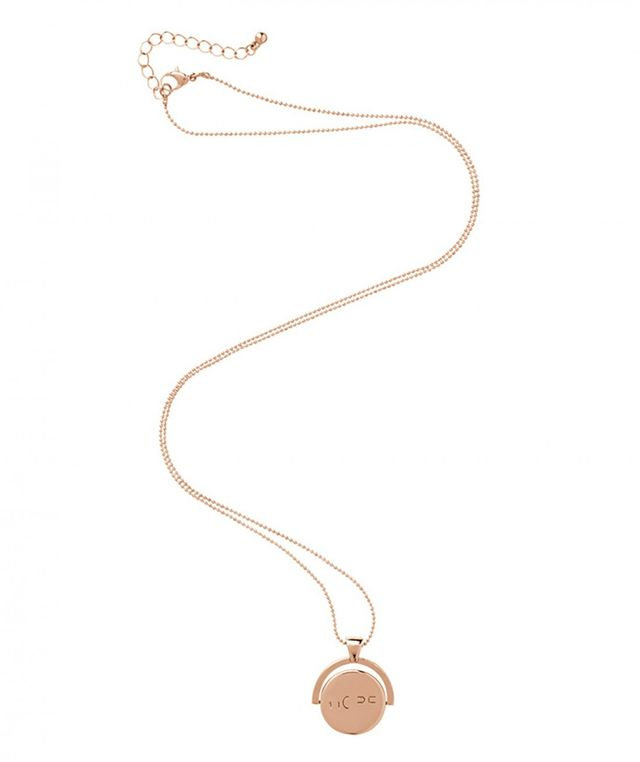 Sportsgirl for The Butterfly Foundation Rose Gold Spinning Hope Necklace