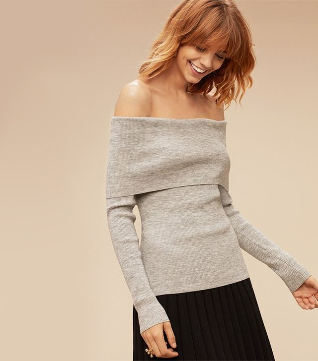 Aritzia Wilfred Croquis Sweater