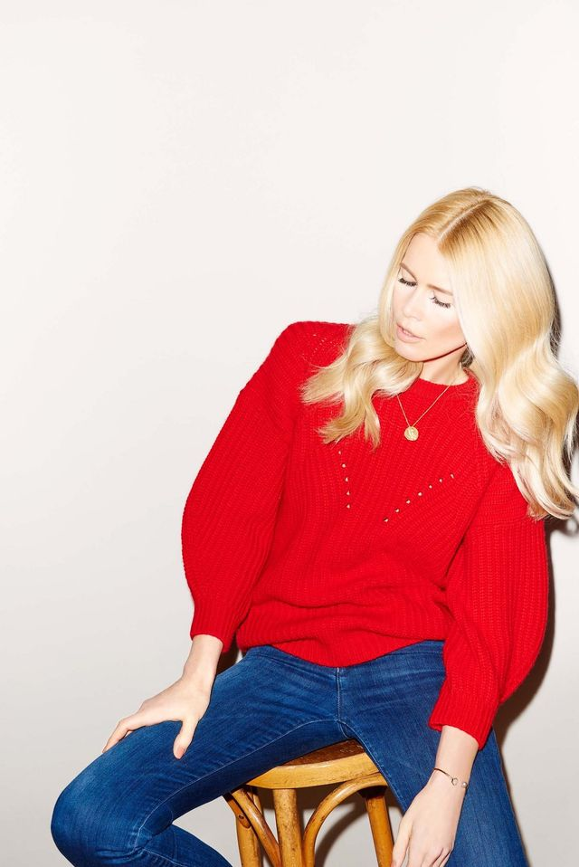Claudia Schiffer Wool Pullover With Cashmere