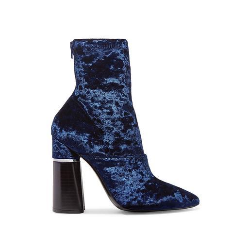 Kyoto Velvet Ankle Boots