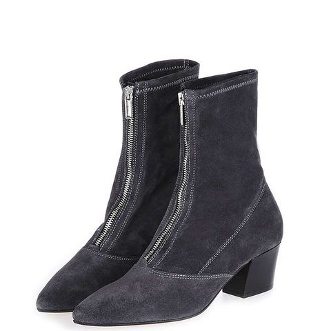 Martini Zip Front Boots