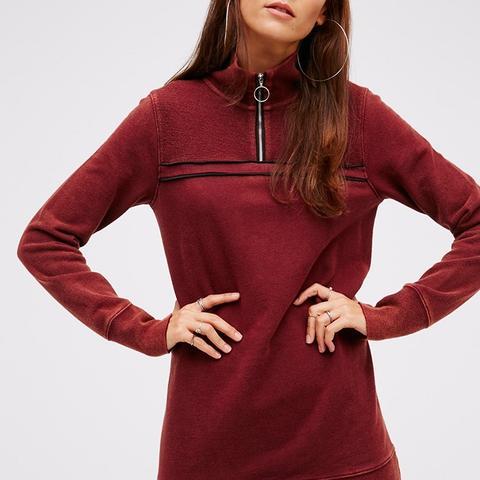 Just a Half Zip Pullover