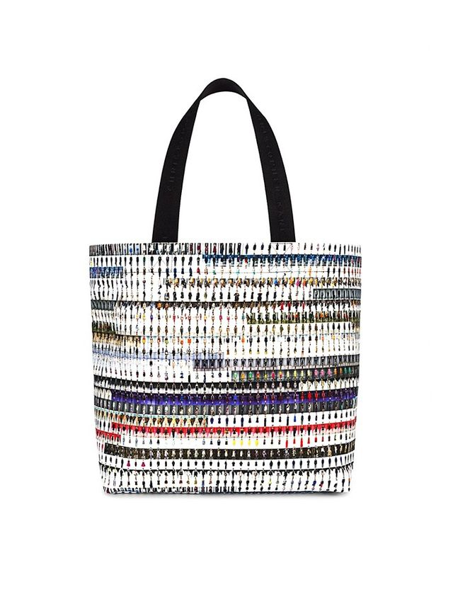 Christopher Kane Limited Edition 002: Runway Print Canvas Tote Bag