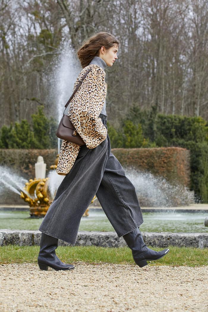 How to wear leopard print: Celine AW21