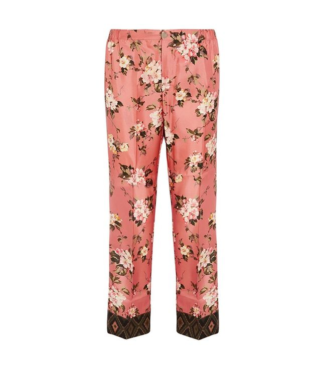 For Restless Sleepers Zeus Floral-Print Pants
