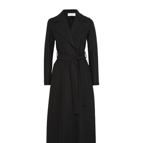 Belted Wool Felt Coat