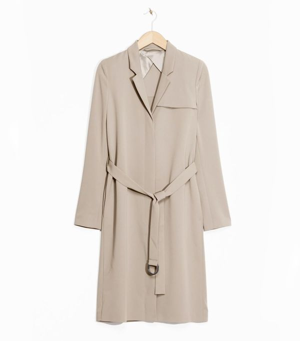 & Other Stories trench coat.