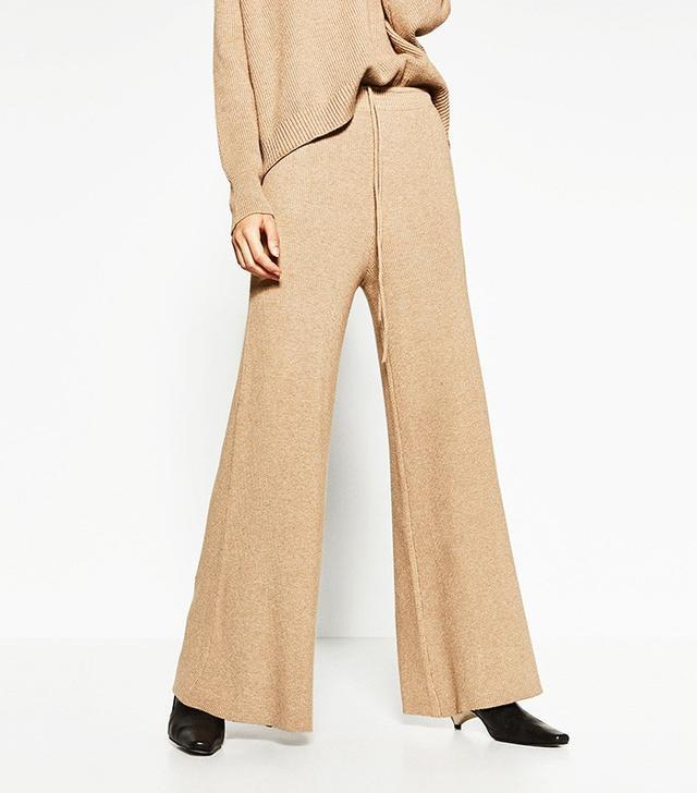 Zara Ribbed Trousers