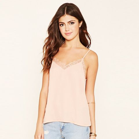 Eyelash Lace Cami