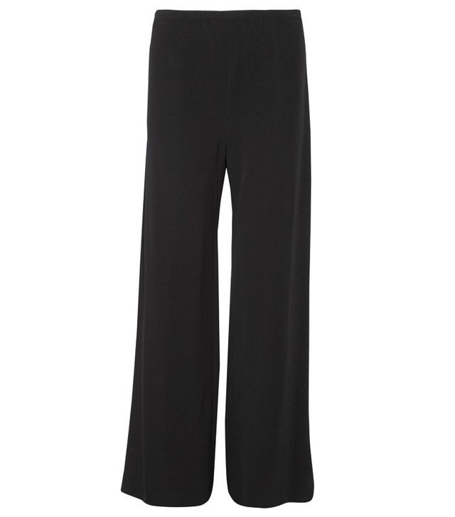 The Row Gala Stretch-Cady Wide-Leg Pants