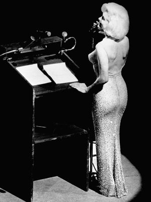 Marilyn Monroe's Iconic Naked Dress Is Up for Auction