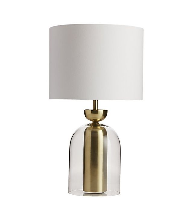 CB2 Bell Jar Table Lamp