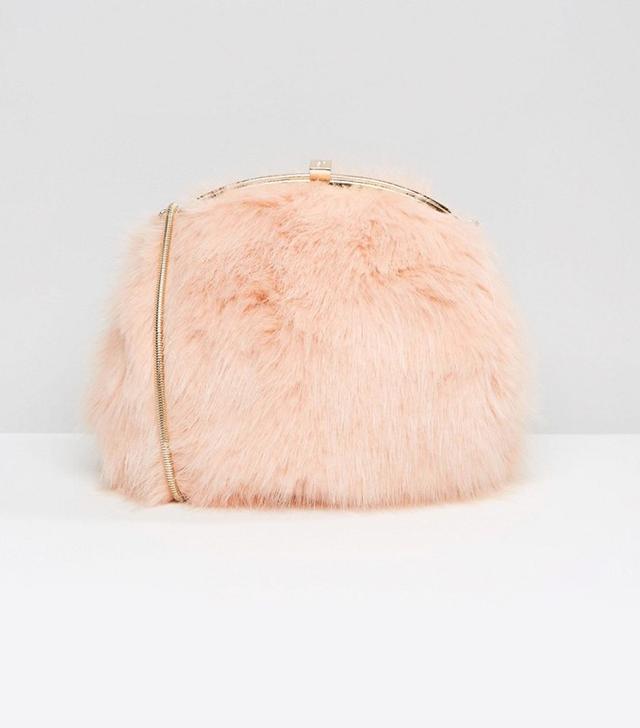 Dune Faux Fur Cross Body Bag