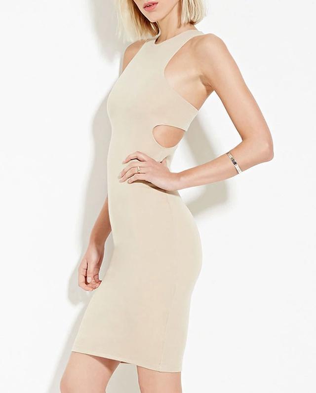 Forever 21 Cutout Midi Dress