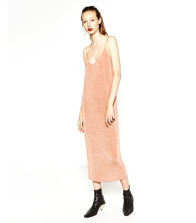 Zara Long Strappy Slip