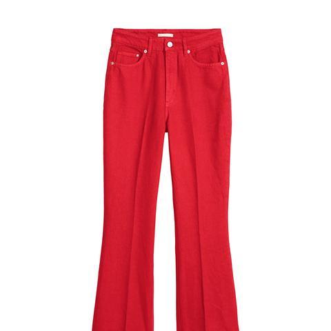 Kick-Flare Jeans
