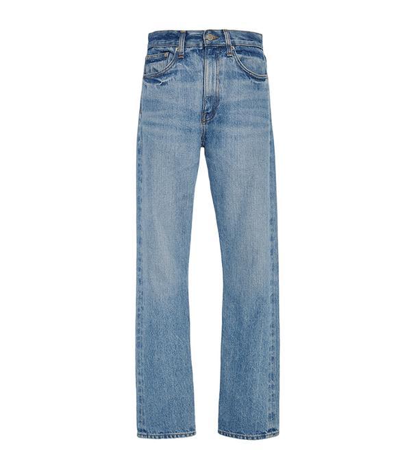Light Vintage Selvedge Denim Wright Jeans