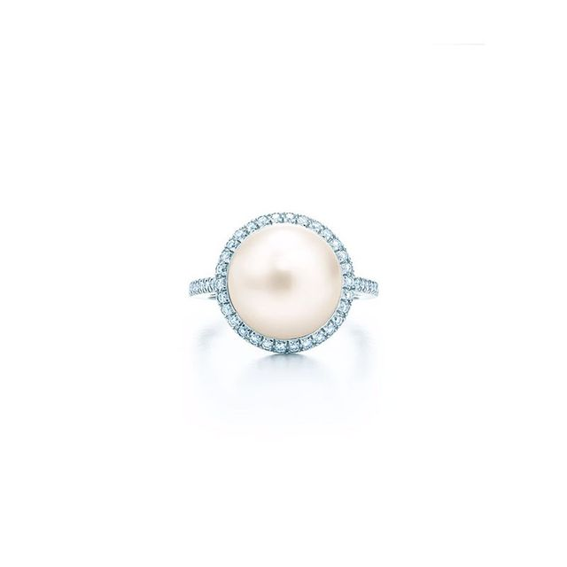 Tiffany Pearl Ring