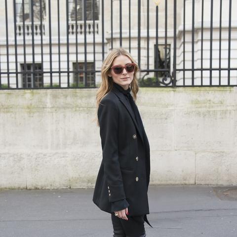 Olivia Palermo favourite fashion brands: Paige