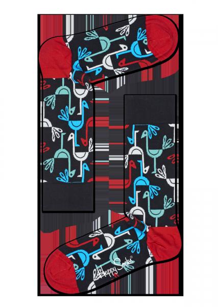 Happy Socks Iris Apfel BIrd Socks