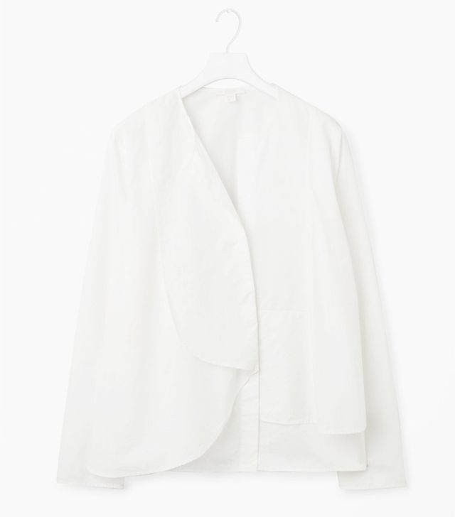 Cos Top With Layered Bib