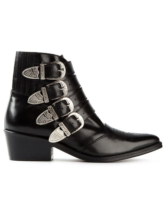 Toga Ankle Cowboy Boots