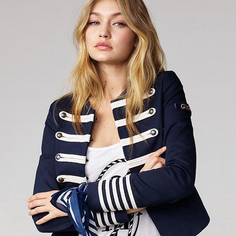 Cotton Band Jacket