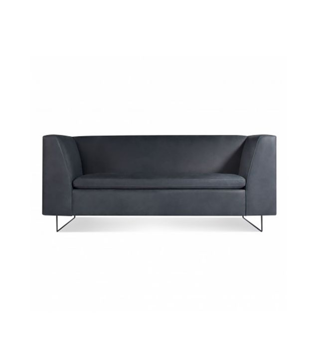 Blu Dot Bonnie Leather Studio Sofa