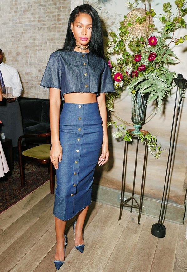 WHO:Chanel Iman WHAT:W It Girl Luncheon