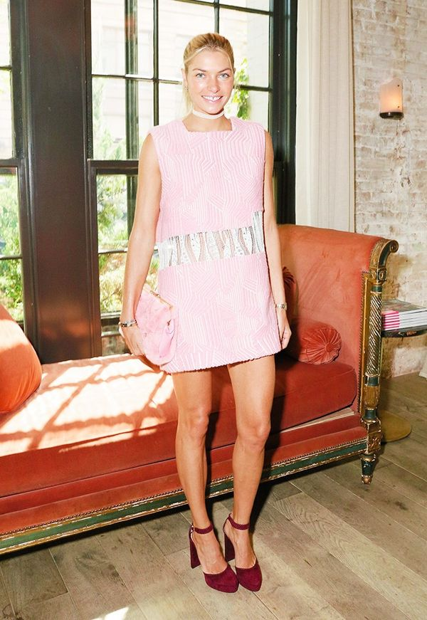 WHO:Jessica Hart WHAT:W It Girl Luncheon