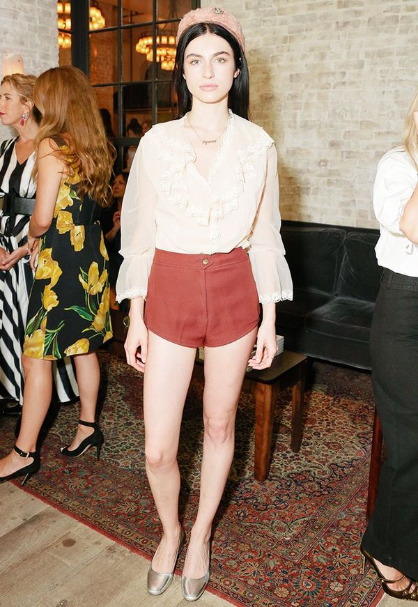 WHO: Tali Lennox WHAT: W It Girl Luncheon