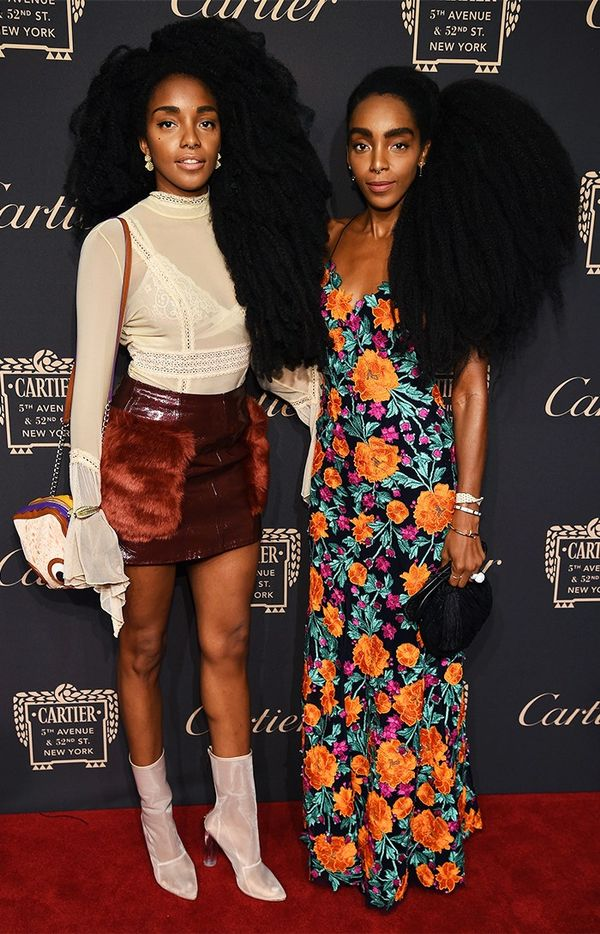 WHO:TK Wonder and Cipriana Quann WHAT:Cartier Fifth Avenue grand reopening event