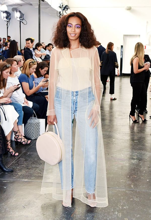 WHO: Solange Knowles WHAT: Creatures of Comfort S/S 17 show