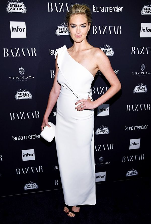 WHO:Kate Upton WHAT:Harper's Bazaar Icons Party