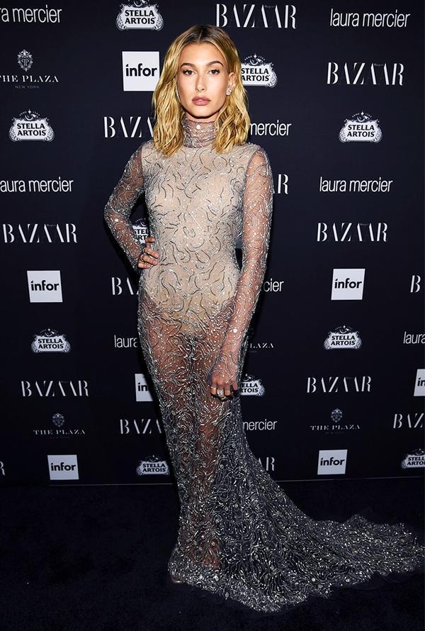 WHO:Hailey Baldwin WHAT:Harper's Bazaar Icons Party