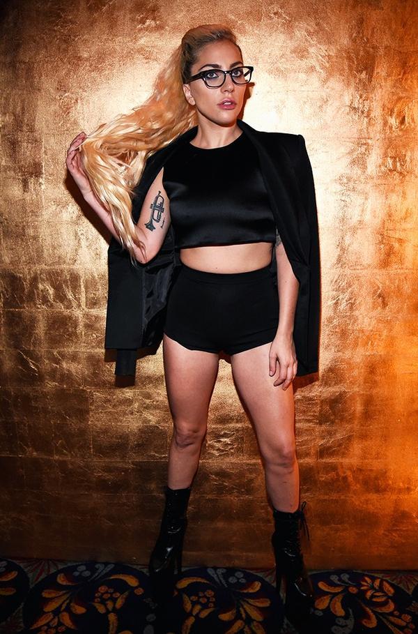 WHO: Lady Gaga WHAT: Brandon Maxwell S/S17 show