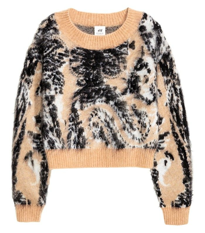 H&M Knit Wool-blend Sweater