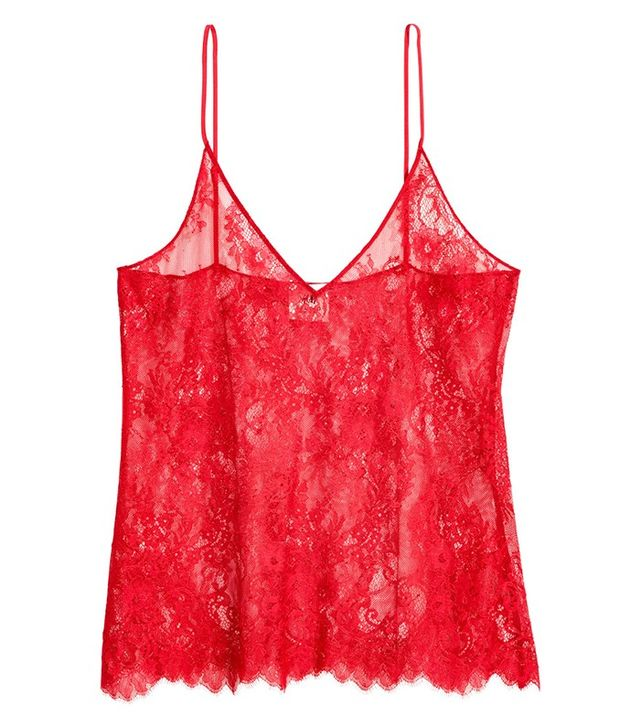 H&M Lace Camisole Top