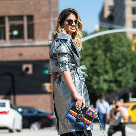 The Latest Street Style From New York Fashion Week Whowhatwear Au