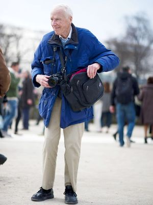 How NYFW Photographers Paid a Touching Tribute to Bill Cunningham