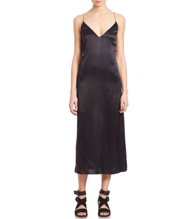 Rag & Bone Nina Silk Slip Dress