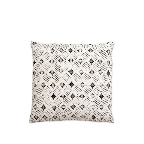 Tribal Mud Cloth & Linen Large Pillow