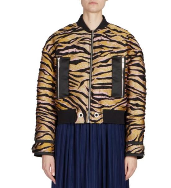 Kenzo Tiger Printed Jacket