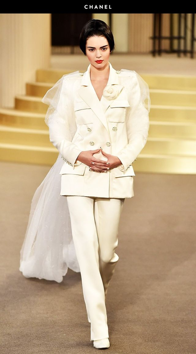 Chanel runway Kendall Jenner