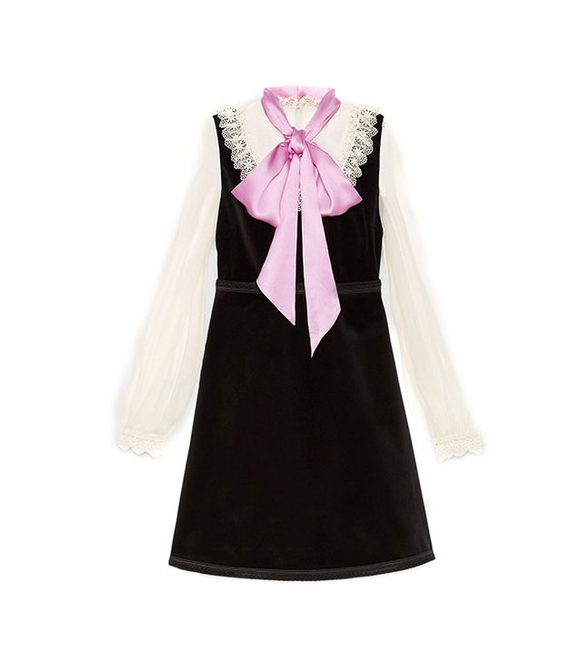 Gucci Velvet Dress with Bow
