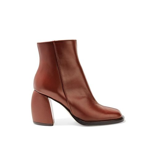 Rachel Leather Ankle Boots