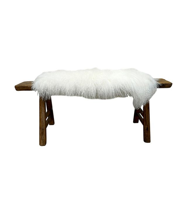Tammy Price of Fragments Identity Shandong Bench With Tibetan Lambswool