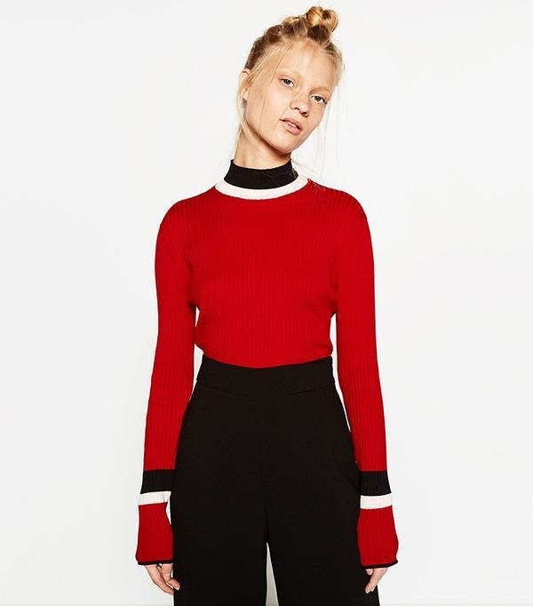 Zara Sports Sweater